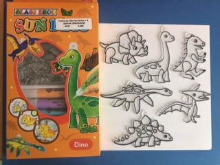 Farby na sklo Dinosauri 6 x 10 6b62d745fe8