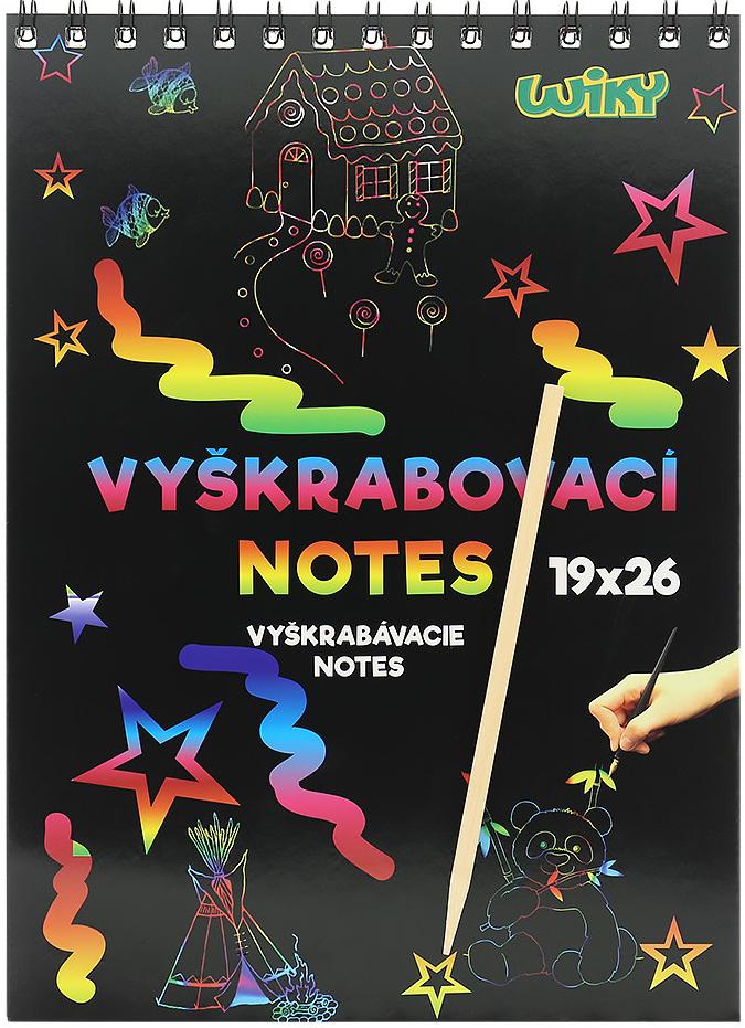 Wiky Vyškrabovací notes 6 listov 0d46e323248