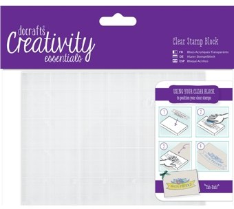 Číra  pečiatka DoCrafts Creativity Essentials A6