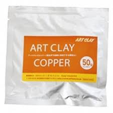 Art Clay Copper New - model. hmota-meď, 50g