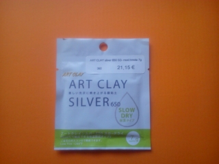 Art Clay Silver 650 SD - model.hmota 7g