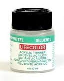 Lifecolor thinner - riedidlo, 22 ml