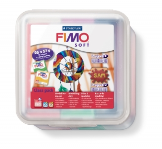 Fimo Soft sada - MAXIBOX